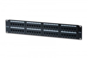 "Patch panel DIGITUS 48 2U 19"" Kat.5e UTP DN-91548U"
