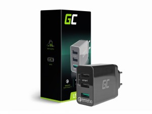 Green Cell Ładowarka 3xUSB Quick Charge 3.0