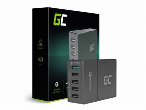 Green Cell Ładowarka 5xUSB Quick Charge 3.0