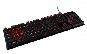 Klawiatura KINGSTON Alloy FPS MX Red-NA HX-KB1RD1-NA/A2
