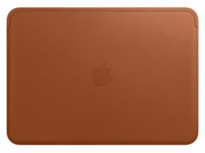 Etui APPLE MacBook 12 Leather Sleeve Saddle Brown (Naturalny brąz) MQG12ZM/A