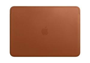 Etui APPLE Leather Sleeve Saddle Brown (Naturalny brąz) MRQM2ZM/A