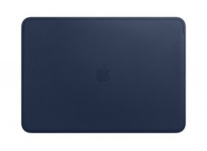 Etui APPLE Leather Sleeve Midnight Blue (Nocny błękit) MRQU2ZM/A