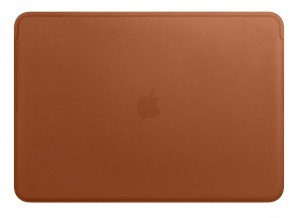Etui APPLE Leather Sleeve Saddle Brown (Naturalny brąz) MRQV2ZM/A